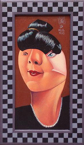 Portrait after Hannah Hoch